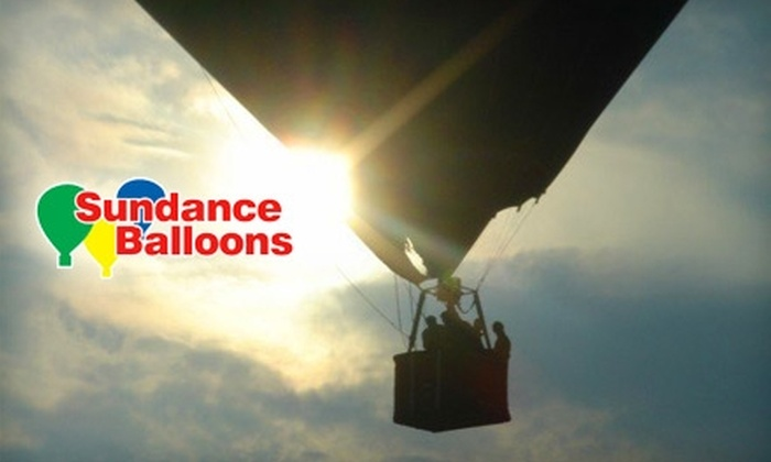 Sundance Balloons - Multiple Locations: $139 for a Hot Air Balloon Ride ($295 Value) or $249 for Two Hot Air Balloon Rides ($590 Value) from Sundance Balloons
