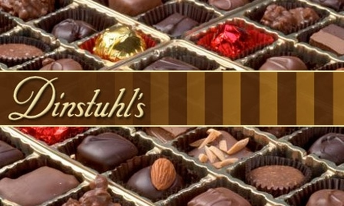 Dinstuhl's Fine Candy Company  - Multiple Locations: $12 for One Pound of Fine Assorted Chocolates from Dinstuhl's Fine Candy Company ($27.26 Value)