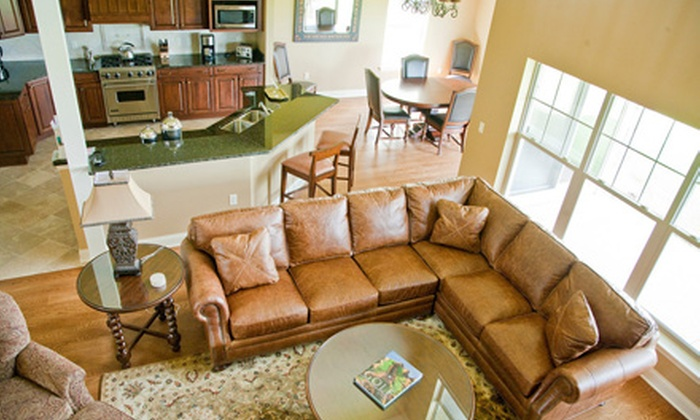 The Residence Club at Geneva National - Lake Geneva: Two-, Three-, or Four-Night Three-Bedroom Condo Rental at The Residence Club at Geneva National in Lake Geneva