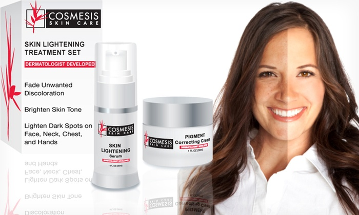Dermatologist-Developed Skin-Lightening Duo: $29.99 for a Dermatologist-Developed Skin-Lightening Duo ($140 List Price)