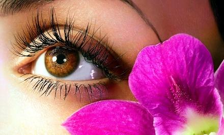 Up to 52% Off Semi-Permanent Eyelashes at Latia at A-Spot Nail Studio