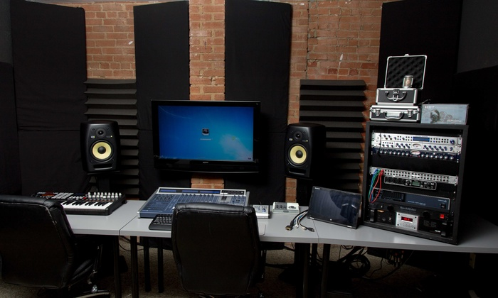 Rockit Lab Studios - Toler Business Park: One Hour of In-Studio Recording from A2V Productions (33% Off)