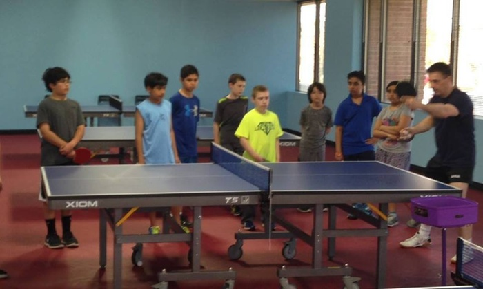 Smash Table Tennis - Sterling: $50 for $100 Worth of Table Tennis — Smash Table Tennis