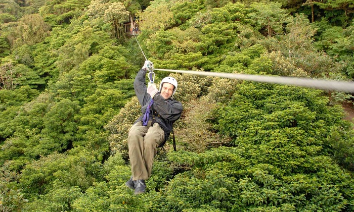Adventure Zip KC - Bonner - Loring: Hike and Zip Experience for Two or Four at Adventure Zip KC (51% Off)