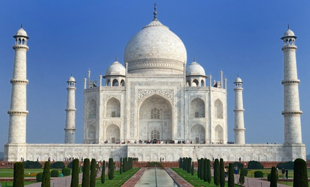 groupon daily deal - Tour of India with Airfare, 4-Star Hotels, and Tour Guide from Gate 1 Travel. Price/person Based on Double Occupancy.