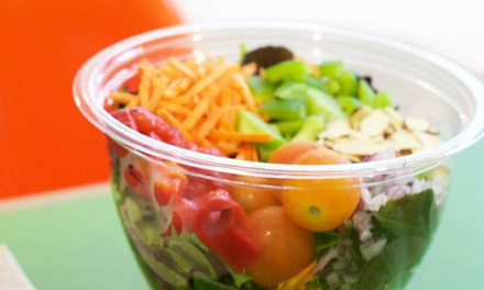 Two Healthy Green Salads or Wraps at Mean Greens (38% Off)