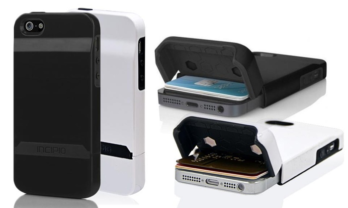 Incipio Stashback Credit-Card or Hardshell Case for iPhone 5 5s ... 8395831b2