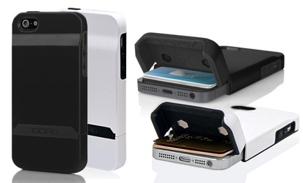 Incipio Stashback Credit-Card or Hardshell Case for iPhone 5/5s