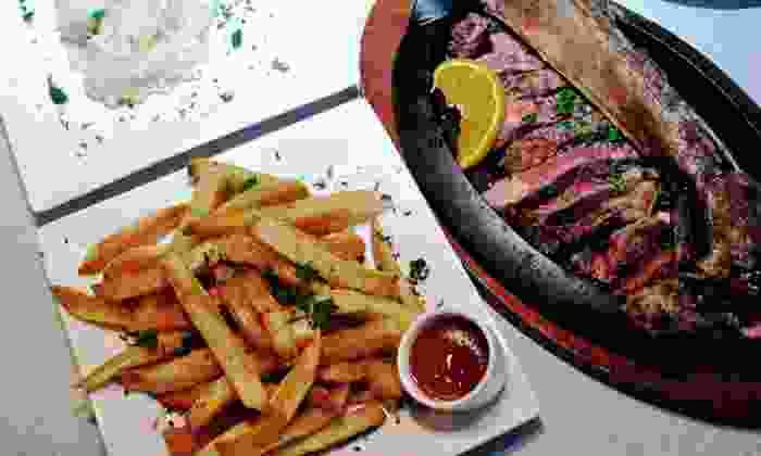 Talia's Steakhouse - Manhattan: Three-Course Dinner for Two or Four at Talia's Steakhouse (Up to 56% Off)