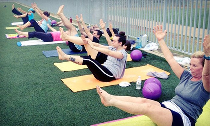 A Strong You - Multiple Locations: 6 or 12 One-Hour Outdoor Boot-Camp Classes from A Strong You (Up to 78% Off)