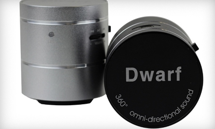 Tier One USA: $39 for an Audiomotion Mighty Dwarf Vibration Multimedia Speaker from Tier One USA ($85 Value)