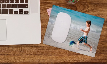One, Two, Three, or Four Personalized Mouse Pads from CanvasOnSale (Up to 80% Off)