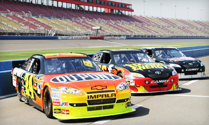 Rusty Wallace Racing Experience - Central Texas Speedway: 10-Lap Racing Experience or 3-Lap Ride-Along from Rusty Wallace Racing Experience (Up to 51% Off). Two Dates Available.