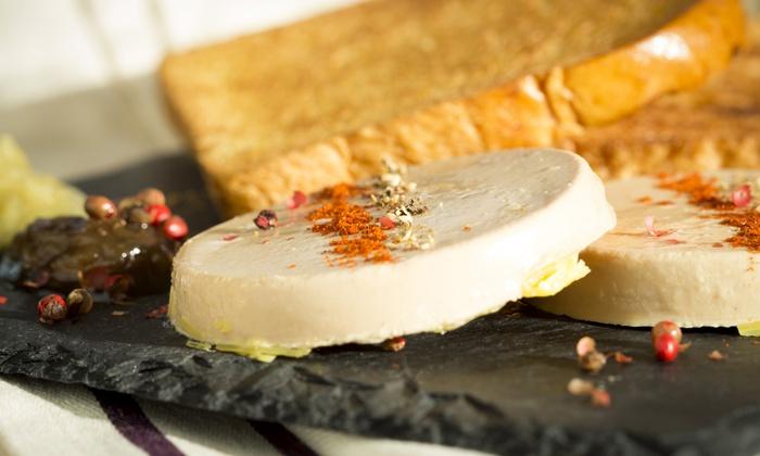 L'auberge du Cens - Orvault: Entrée, plat et dessert avec café pour 2 ou 4 personnes dès 65 € à L'Auberge du Cens
