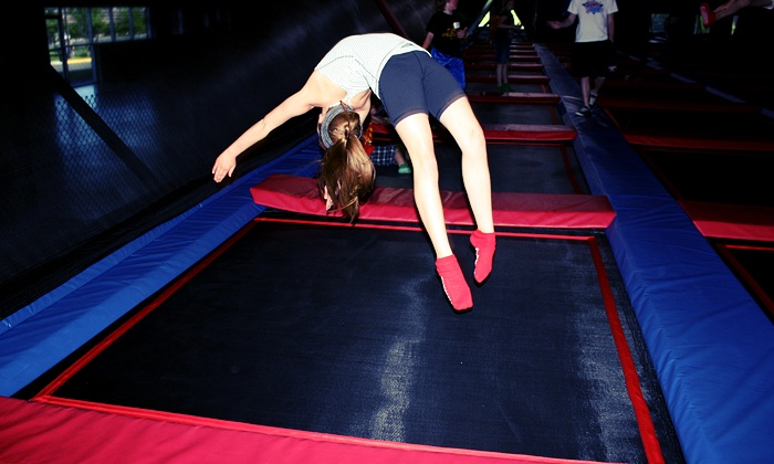 Jump and Jam Activity Center - Chanhassen: $129 for a Trampoline and Laser-Tag Party for 8 at Jump and Jam Activity Center (Up to $250 Value)