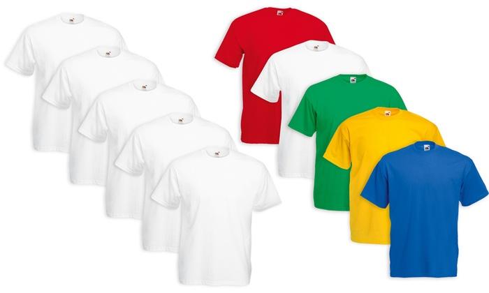 T-shirt Bimbo Bambino Unisex Fruit Of The Loom Abbigliamento E Accessori Bambino: Abbigliamento Maglietta Manica Corta Bambina