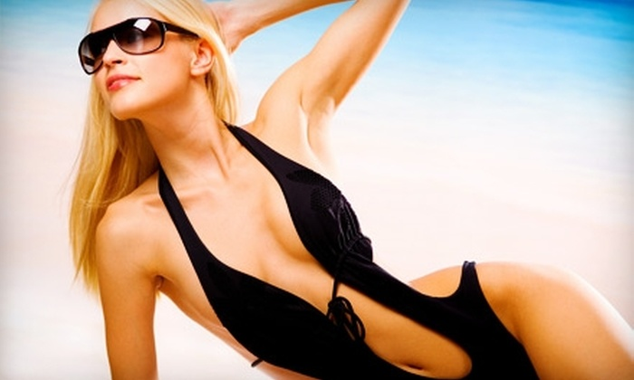 Bronze Tan - Clayton: Two Airbrush Tans or Ten Tanning-Bed Sessions at Bronze Tan