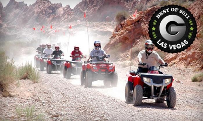 Adrenaline ATV Tours - Las Vegas: $85 for a Three-Hour Valley of Fire ATV Adventure from Adrenaline ATV Tours ($170 Value)