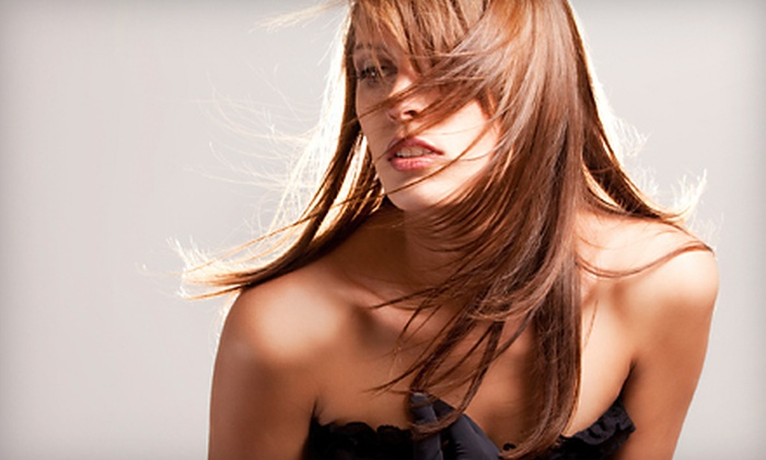 Studio D Hair Salon - Executive Hills: $25 for Haircut, Blow-Dry, and Style at Studio D Hair Salon in Overland Park ($55 Value)