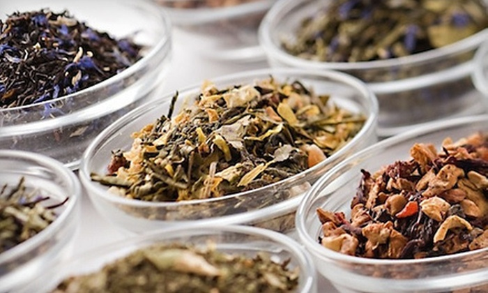 Discover Teas - The Village at Quarterpath: Custom-Blend Tea Package, Blend-Your-Own Tea, or $6 for $12 Worth of Special House Blend Tea at Discover Teas in Williamsburg