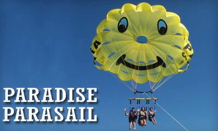 Paradise Parasail - Fort Myers Beach: $70 for a Tandem Parasail Ride at Paradise Parasail ($140 Value)