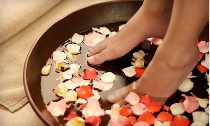 Bella Nova Day Spa & Retreat - Copperfield Southdown Village: Pedicure, Massage, or Body Wrap at Bella Nova Day Spa & Retreat