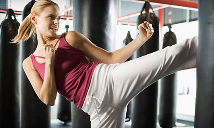 Family Martial Arts Center - Park Villas: $30 for Six Weeks of Cardio Kickboxing Boot Camp at Family Martial Arts Center in Aurora ($79 Value)