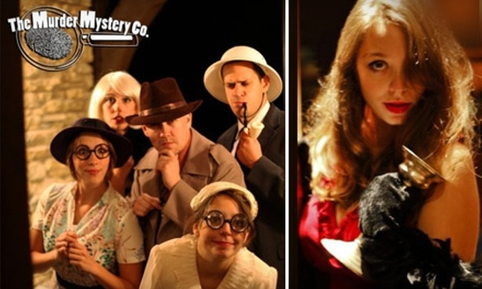 The Murder Mystery Company - West Grand: $25 Admission to a Murder-Mystery Show and Dinner at Brann's Sizzling Steaks and Sports Grille ($55 Value). Choose from Fourteen Dates.