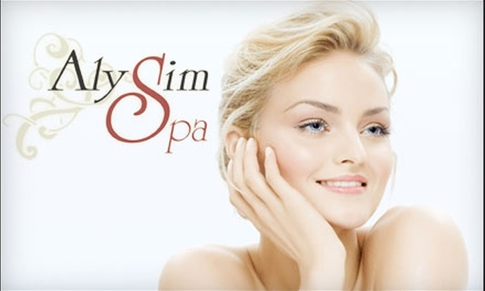 AlySim Spa - Nottingham Forest: $69 for a Revitalizing Lumifacial and Lumilift Rejuvenation Procedure at AlySim Spa ($180 Value)