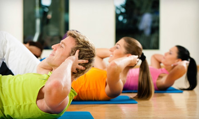 Your Body Your Machine - Midtown Center: 10 or 20 Boot-Camp, Zumba, Yoga, Body Sculpting, and Other Group Fitness Classes (Up to 78% Off) from Your Body Your Machine (Up to 78% Off)