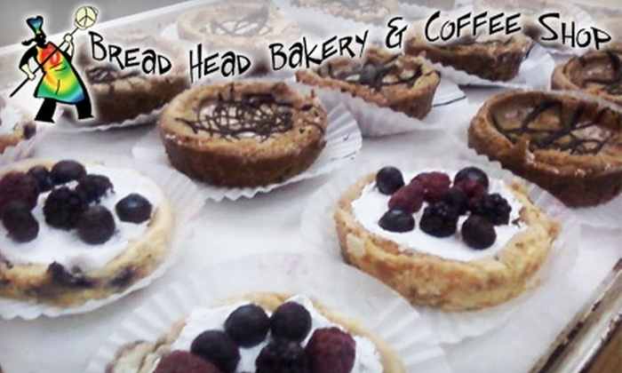 Bread Head Bakery & Coffee Shop - Dover: $5 for $10 Worth of Fresh-Baked Breads, Coffee, and More at Bread Head Bakery & Coffee Shop
