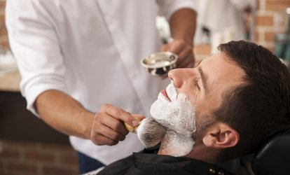 image for A Men's Haircut and <strong>Shave</strong> from GoodFellas Barber College (50% Off)