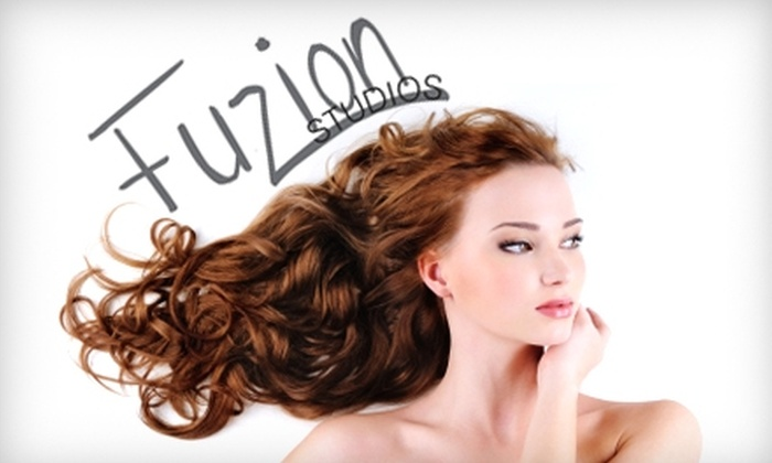 Fuzion Studios - Downtown Rockford: $25 for $50 Worth of Salon and Spa Services at Fuzion Studios