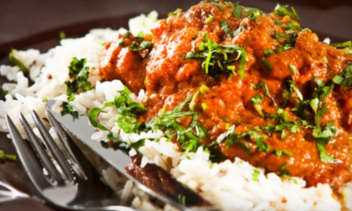India Tavern - Hampden South: Dinner with Appetizers, Entrees, and Drinks for Two or $10 for $20 Worth of Indian Fare at India Tavern