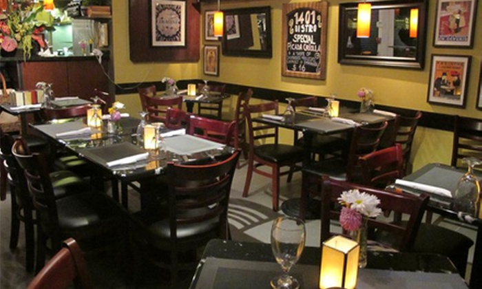 Bistro 1401 - Coral Way: $40 or $80 Worth of Argentinean Cuisine at Bistro 1401