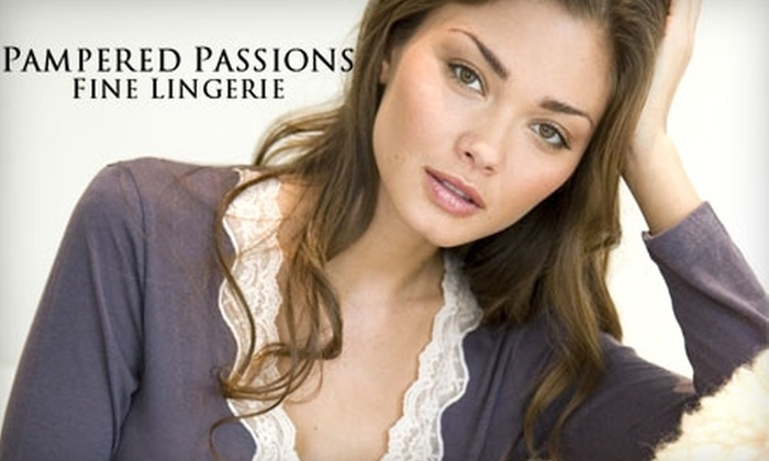 Pampered Passions Fine Lingerie - Centennial: $25 for $50 Worth of Intimates at Pampered Passions Fine Lingerie in Englewood