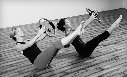 5 Drop-In Yoga, Pilates, or Ballet-Barre Classes (a $75 value) - Yoga Monkey + Fitness in Indianapolis