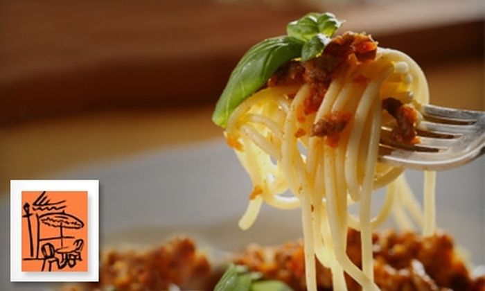 Cafe Mangia - Colchester: $10 for $25 Worth of Italian Fare and Drinks at Cafe Mangia