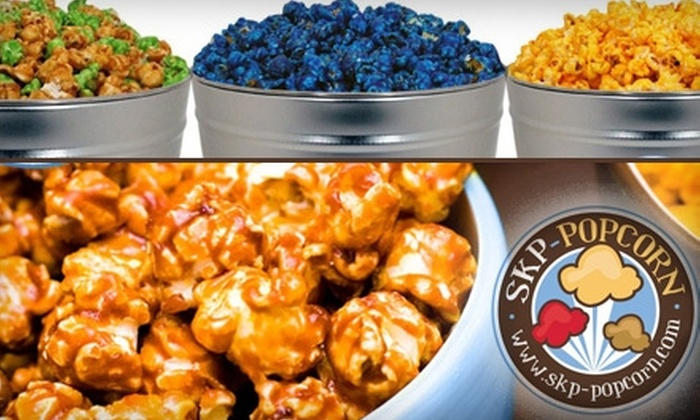 SKP Popcorn - Indianapolis: $5 for $13 Worth of Gourmet Popcorn from SKP-Popcorn
