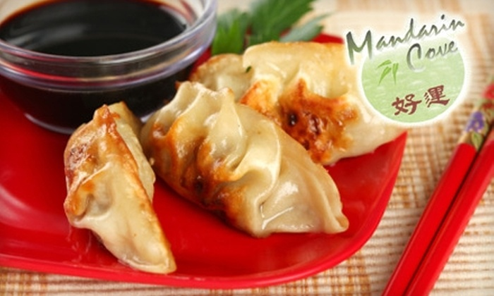 Mandarin Cove - Downtown: $10 for $20 Worth of Chinese Dinner Dishes and Drinks at Mandarin Cove