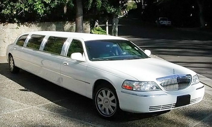 FLS Limousine & Sedan Service - Multiple Locations: Romantic-Tour Limousine Package for 2 or Limousine Rental for 10 from FLS Limousine & Sedan Service in Long Beach (Up to 60% Off)