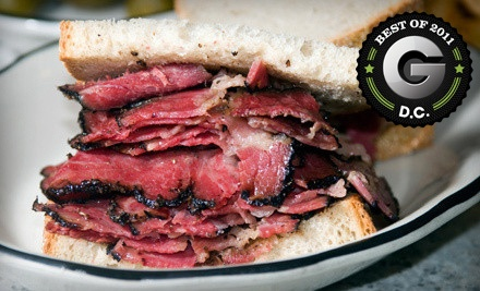 $30 Groupon to The Woodside Deli - The Woodside Deli in Rockville