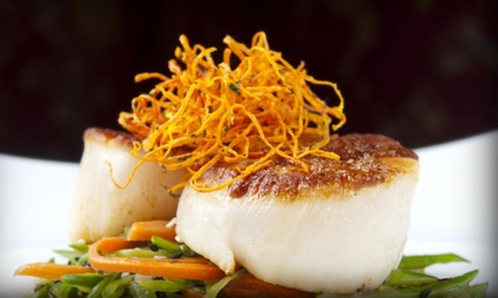 Social Restolounge - Calgary: $30 for $60 Worth of Upscale Fare and Drink at Social Restolounge