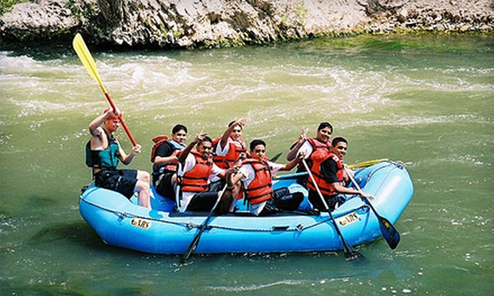 Dinosaur Expeditions - Henefer: $48 for a Half-Day White-Water Rafting Outing for Two from Dinosaur Expeditions in Henefer (Up to $96 Value)