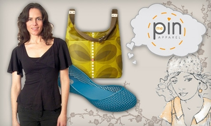 Pin Me Apparel - Boise: $25 for $50 Worth of Eco-Conscious Clothing and Accessories at Pin Me Apparel