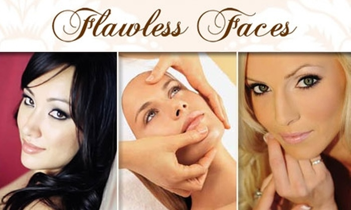 Flawless Faces - Costa Mesa: $35 for a One-Hour Customized Facial at Flawless Faces Makeup & Skincare Lounge ($75 Value)