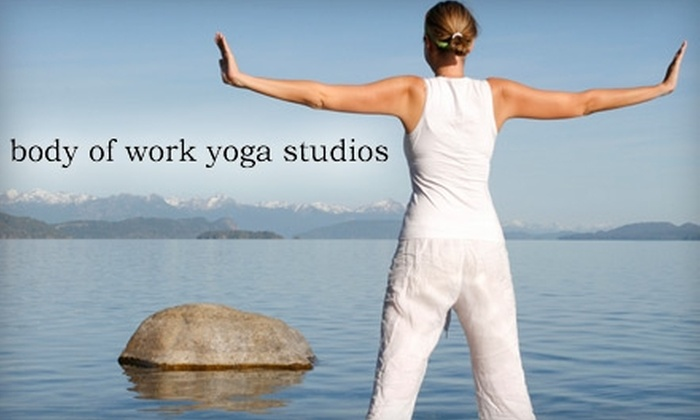 Body of Work Yoga Studios - Downtown Springfield: $30 for One Month of Unlimited Yoga at Body of Work Yoga ($130 Value)