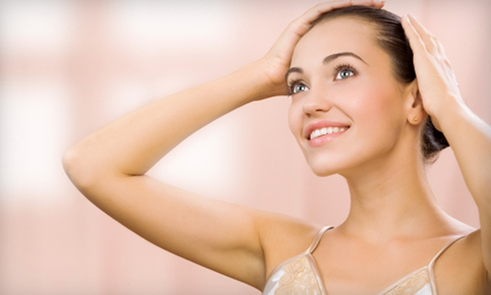 Suman's Facial & Body Sculpting - Tracy: $60 for a Microcurrent Facial Treatment at Suman's Facial & Body Sculpting ($149 Value)