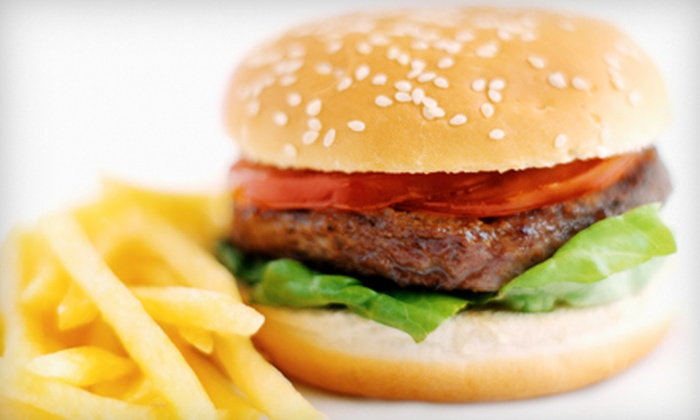 The Concord Grill - Concord: $16 for a Burger or Sandwich Meal for Two at The Concord Grill (Up to $32.15 Value)