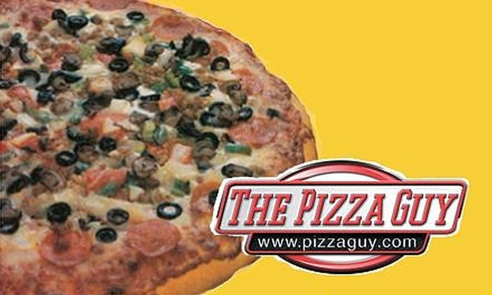 The Pizza Guy - Dallas: $10 for $20 Worth of Premium Pizzas, Jumbo Wings, and More at The Pizza Guy
